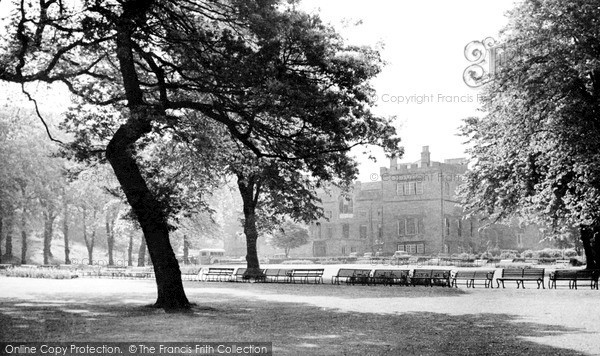 Photo of Whitehaven, Castle Park c1950, ref. W313016