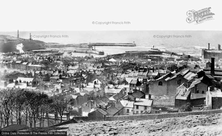 Whitehaven, Harbour and Town 1950
