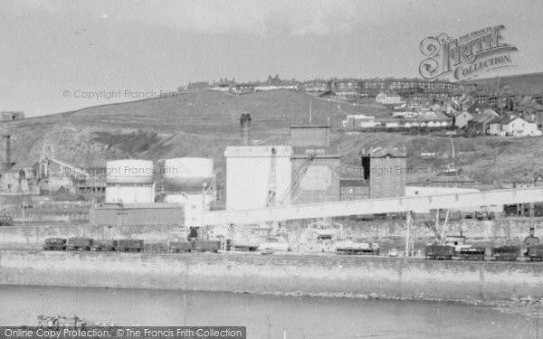 Photo of Whitehaven, Industry At The Harbour c.1960