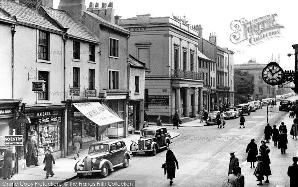 Photo of Whitehaven, Lowther Street c.1950