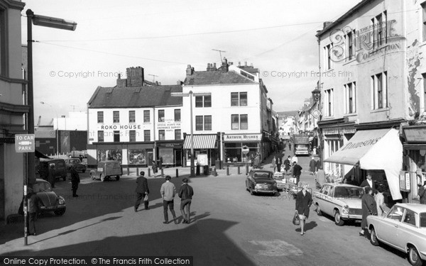 Photo of Whitehaven, Market Place 1968