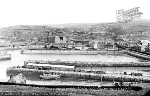 Photo of Whitehaven, The Docks c.1950