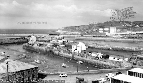 Photo of Whitehaven, The Harbour c.1960