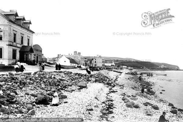 Photo of Whitehead, The Beach 1897