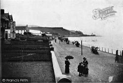 Whitehead, The Esplanade c.1900