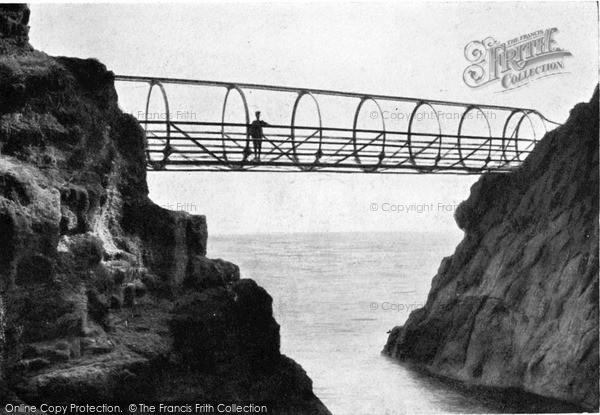 Photo of Whitehead, Tubular Bridge, The Gobbins c.1900
