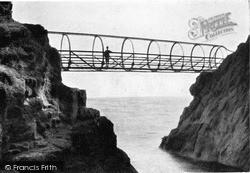 Whitehead, Tubular Bridge, The Gobbins c.1900