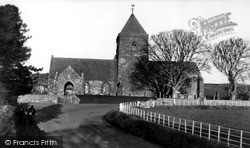 St Mary's Church c.1955, Whitekirk