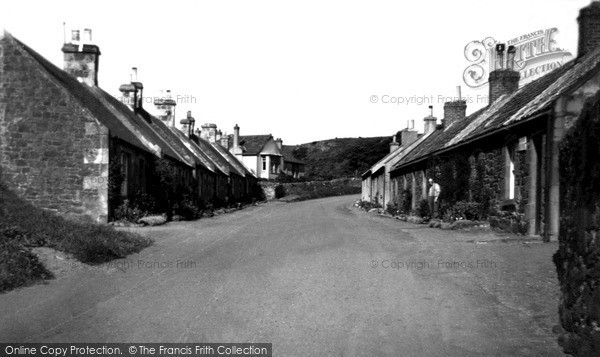 Photo of Whitekirk, Village c.1955