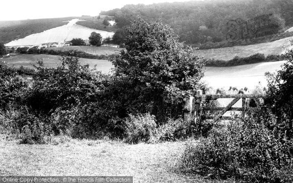 Photo of Whiteleaf, The Cross And The Chilterns 1897