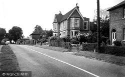 Brook Street c.1955, Whitemans Green