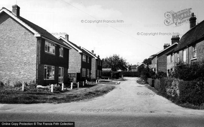 Photo of Whitemans Green, Ivy Cottages c.1960