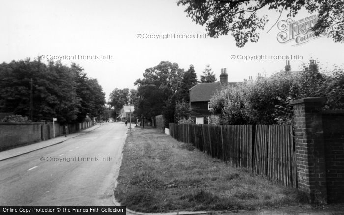 Photo of Whitemans Green, The Village c.1955