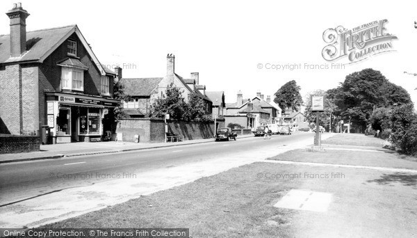 Photo of Whitemans Green, The Village c.1960