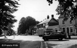 Whitemans Green, View From Brook Street c.1965