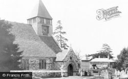 Whiteparish, All Saints Church c.1955