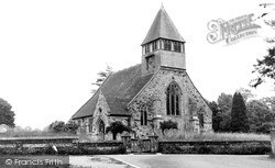 Whiteparish, Church Of All Saints c.1955