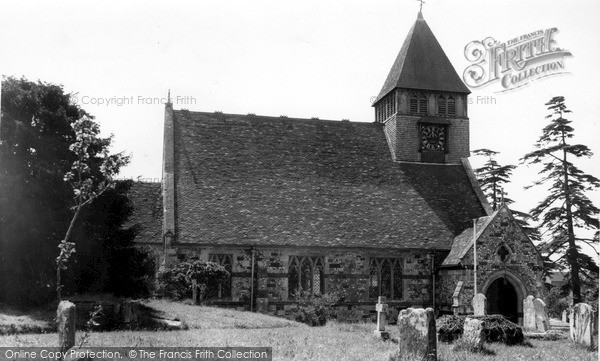 Photo of Whiteparish, Church Of All Saints  c.1955