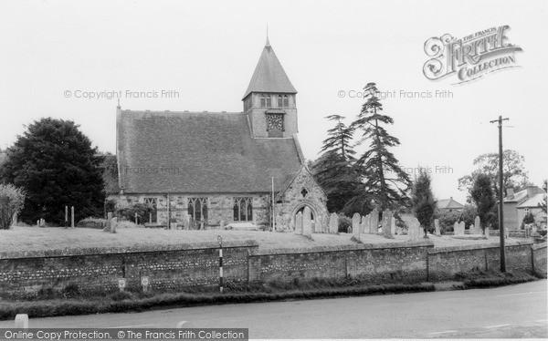 Photo of Whiteparish, Church Of All Saints  c.1960
