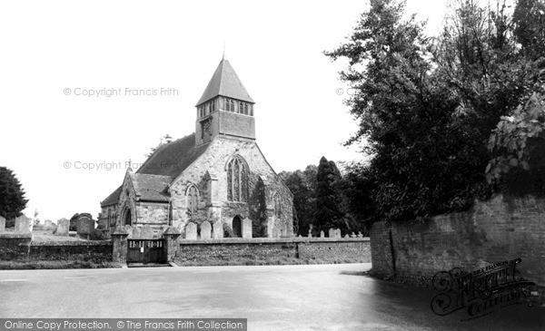 Photo of Whiteparish, Church Of All Saints c.1960