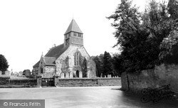 Whiteparish, Church Of All Saints c.1960