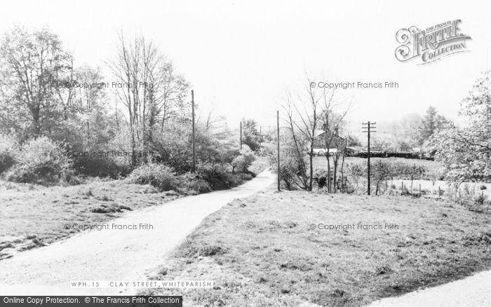 Photo of Whiteparish, Clay Street c.1960