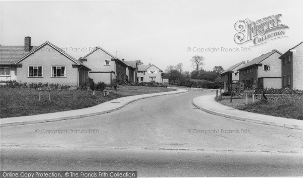 Photo of Whiteparish, Green Close c.1960