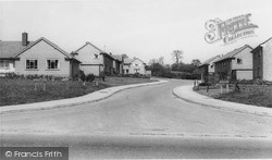 Whiteparish, Green Close c.1960