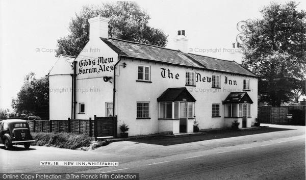 Photo of Whiteparish, New Inn c.1960