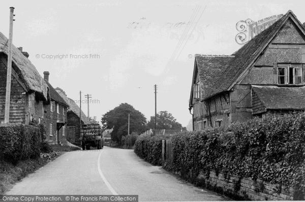 Photo of Whiteparish, The Main Road c.1955