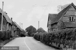 Whiteparish, The Main Road c.1955