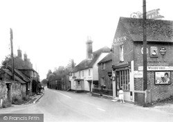 Whiteparish, The Street c.1945