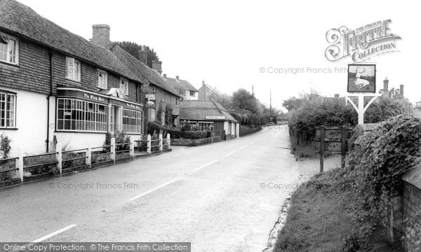 Photo of Whiteparish, The Village c.1960