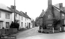 Whiteparish, The Village c.1960