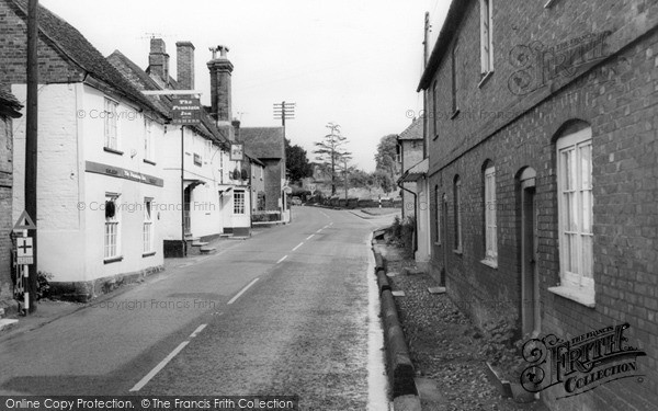 Photo of Whiteparish, The Village c.1965