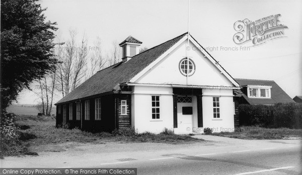 Photo of Whiteparish, Village Hall c.1960