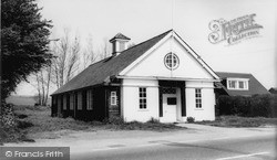 Whiteparish, Village Hall c.1960