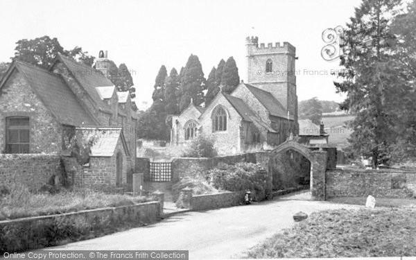 Photo of Whitestaunton, St Andrew's Church c.1955