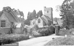 St Andrew's Church c.1955, Whitestaunton
