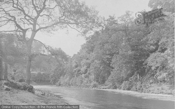 Photo of Whitewell, A Bend In The Hodder 1921