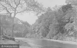 Whitewell, A Bend In The Hodder 1921