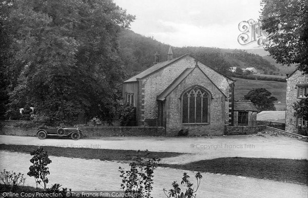 Photo of Whitewell, St Michael's Church 1921