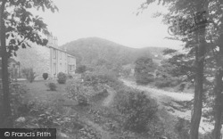 Whitewell, The Hotel And Gardens 1921