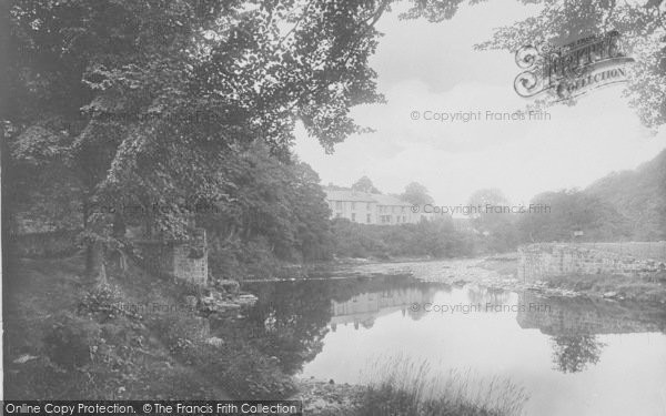 Photo of Whitewell, The Hotel From The Bridge 1921