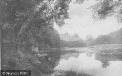 Whitewell, The Hotel From The Bridge 1921