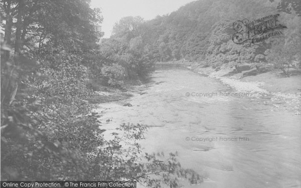 Photo of Whitewell, The River And Woods 1921