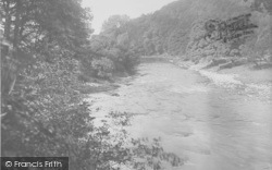 Whitewell, The River And Woods 1921