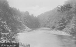 Whitewell, The River Hodder 1921