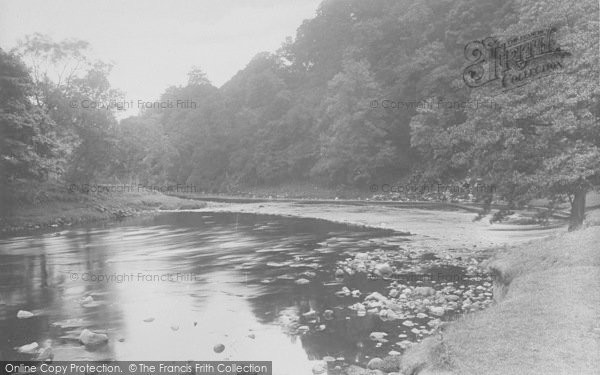 Photo of Whitewell, The Stepping Stones 1921