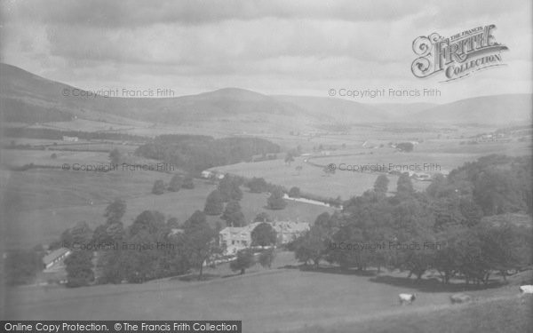 Photo of Whitewell, The Village And Valley 1921